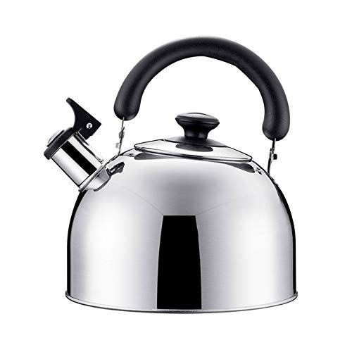 Electric oven Bouilloire Sifflante en Acier Inoxydable Sifflet Bouilloire à Thé MéNage Cuisine 3L CuisinièRe ThéIèRe pour Faire Bouillir l'eau et Le Café