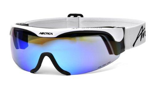 ARCTICA® *XC SKINING* Skibrille Snowboardbrille Skibrille - Langlauf (S-167A Gestell: weiß-schwarz)
