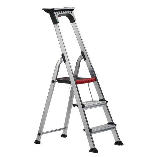 Altrex Double Decker Escalera taburete Aluminio - Escalera de mano (60 cm, 150 kg, 4 kg)