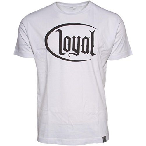 Kontra K Loyal Circle Black T-Shirt Weiss XXL