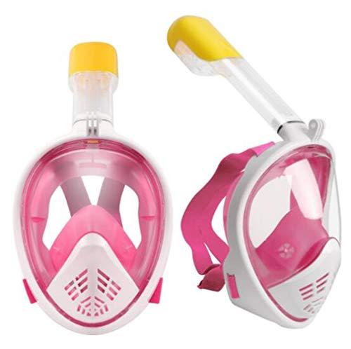 Huashao Tweede Generatie 180 ° Panorama Duikmasker, Siliconenafdichting Anti-mist & Waterdicht Volwassen Masker