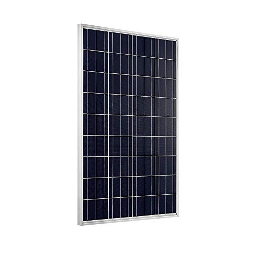 Giosolar 100Watt Poly Photovoltaic Solar Panel Solar Module for Home 12V Battery Charge