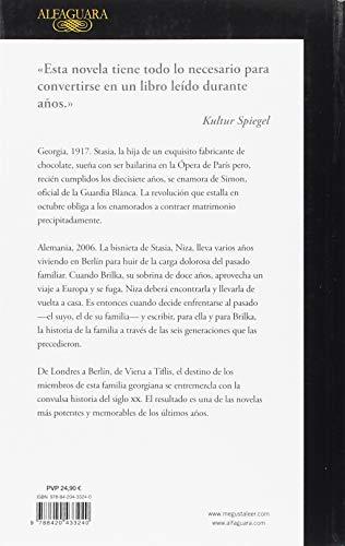 Resumen del libro de Nino Haratischwili LA OCTAVA VIDA