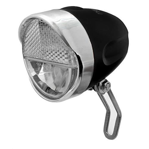B-Germany Retro LED Dynamo 30 LUX Fahrradlampe mit StVZO-Zulassung, Fahrradleuchte, Frontlampe, Fahrradlicht, Fahrradbeleuchtung, Beleuchtung für Fahrrad