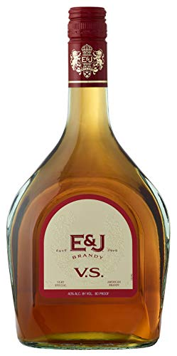 E&J VS Brandy, 750 ml, 80 Proof