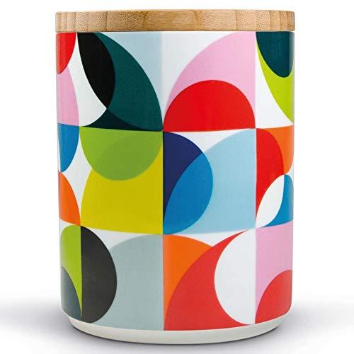 Remember Solena Boîte en Porcelaine Multicolore 12,5 cm