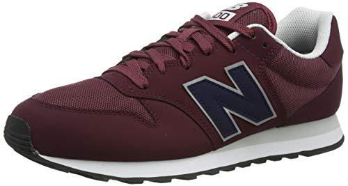 New Balance 500, Zapatillas Hombre, NB Borgoña, 44 EU