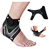 1 Pair-Ankle Brace Ankle Support for Women & Men, Ankle Wrap for Sprained Ankle, Plantar Fasciitis&Achilles Tendonitis, Ankle Injury Recovery from Sports, Adjustable Strap for Ankles, 1 Size Fits Most