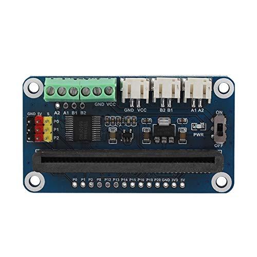 Annadue Motortreiberplatine, Servomotor Controller Platine, mit 2 Kanälen DC Ports und 3 Servo Ports, Stabile Spannung, für Micro Bit Motoren.