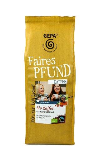 GEPA Das Faire Pfund Kaffee, 2er Pack (2 x 500 g)