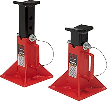 Norco Professional Lifting Equipment 81205i Low Profile 5 Ton Capacity Jack Stands  Imported   Set of 2