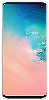 Silicone Cover für Galaxy S10 Weiß