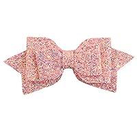 GOMYIE アゲハチョウヘアピン甘くてかわいい赤ちゃんヘッドドレスドレスアップ,ピンク