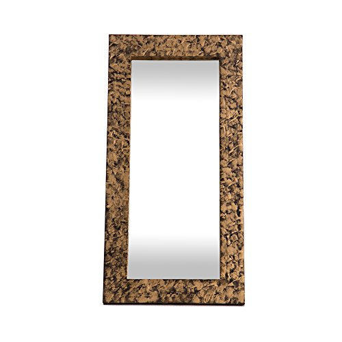 Lohoart L-1098 - Espejo Sobre Lienzo Pintado Artesanal
