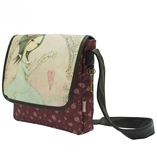 Santoro London Mirabelle Small Flap Bag Tasche Umhängetasche Schultertasche - All For Love