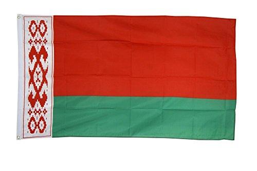 Flaggenfritze Fahne/Flagge Weißrussland (Belarus) + gratis Sticker