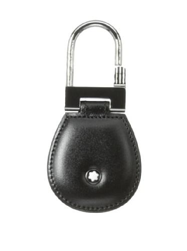 Organización interior: Anillo para varias teclas Cierre: clip Acero inoxidable con acabado brillante, emblema Montblanc con anillo recubierto de paladio. Dimensiones: 4x 8cm