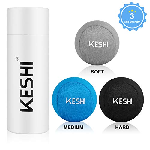 KeShi Hand Stress Balls with 3 Density, Fabric Hand Therapy Grip Ball for Anxiety & Hand Strengthening& Physical Rehabilitation,Great for Adults, Elders& Kids