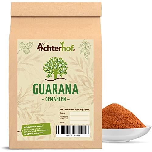 500g Guarana Pulver 100 % naturrein natürlich vom-Achterhof
