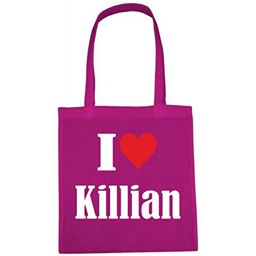 Tasche I Love Killian Größe 38x42...