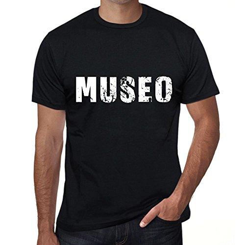 Museo Hombre Camiseta Negro Regalo De Cumpleaños 00550