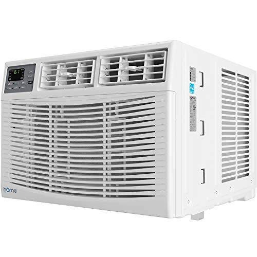 hOmeLabs 10,000 BTU Window Air Conditioner - Energy Star Certified AC Unit with Digital Thermostat and Easy-to-Use Remote Control - Ideal for Rooms up...