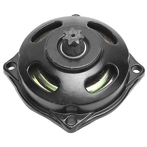 Carcasa de campana de embrague 49cc, piñón Moto 7t apto para Mini Moto Quad 49cc 25h 47cc