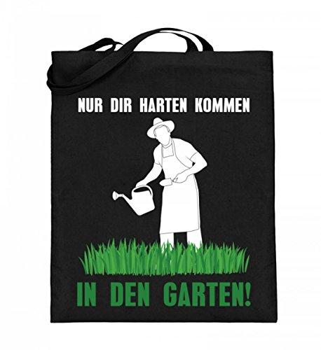 Corchester solo los duros vienen en el jardín – Bolsa de yute...