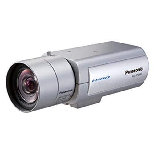 Panasonic WV-SP509E surveillance camera - security cameras (Indoor & outdoor, box, Silver, Ceiling, 1920 x 1080 pixels, H.264, MPEG4)