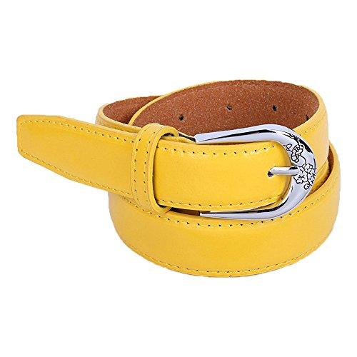 Cinturones amarillos para mujer