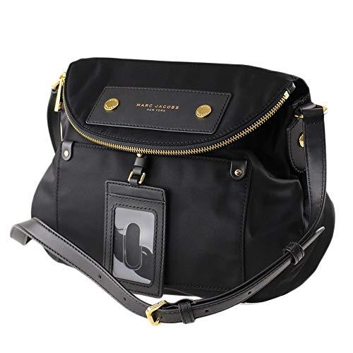 Marc Jacobs Preppy Natasha Nylon Crossbody Bag, Black, Medium