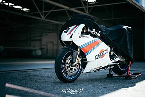 softgarage® Moto Indoor Motorradabdeckung Faltgarage Abdeckplane Schutzhülle Staubdicht
