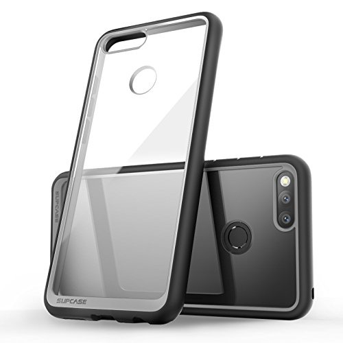SupCase Honor 7X Hülle Premium Handyhülle Hybrid Case Transparent Schutzhülle Backcover [Unicorn Beetle Style] für Honor 7X / Mate SE 2017 (5.93 Zoll) (Schwarz) - 2