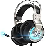 Mpow Gaming Headset for PS4 PC Xbox One PS5...