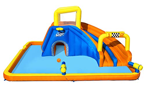 Bestway BW53377GB H2OGO Super Speedway Mega Park, Inflatable Water Slide for Kids