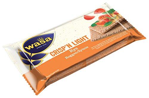 Wasa Fette Crysp & Light - Pacco da 90 Pezzi (900 gr)