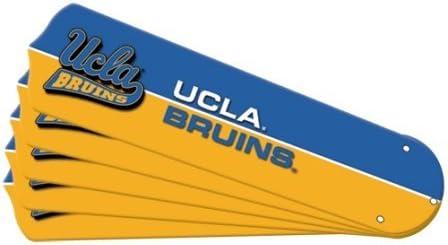 Ceiling Fan Designers New NCAA Bruins UCLA Max 52% OFF Set Blade Spasm price