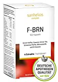 Sanhelios F-BRN Komplex Kapseln - Grüner Tee, Grüner Kaffee, Guarana, Schwarzer Pfeffer, Zink, Vitamin-B, Mineralstoffe - Deutsches Apothekenprodukt - Vegan, 100 Stück