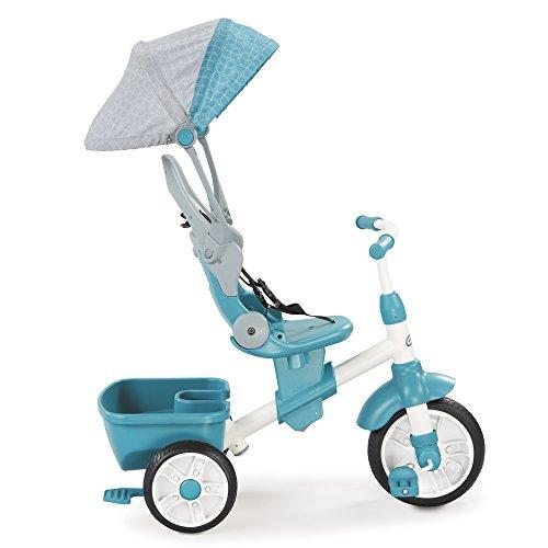 little tikes -Triciclo evolutivo 4 en 1, Color Azul (639654)