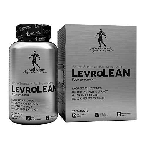 KEVIN LEVRONE FAT BURNER 90 TABLETS | Quemador de grasa termogénico | Pérdida de peso | Adelgazar | Reducción de tejido graso