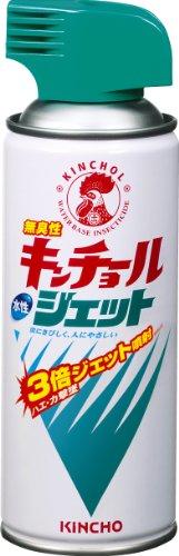 キンチョール ハエ・蚊殺虫剤スプレー 300mL 無臭 (水性ジェットタイプ)