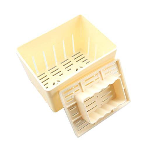 Babysbreath17 Tofu prensado Molde del Fabricante de moldes de plástico Bricolaje casero cuajada de Soja sin Queso paño de Cocina Herramienta de Cocina 1