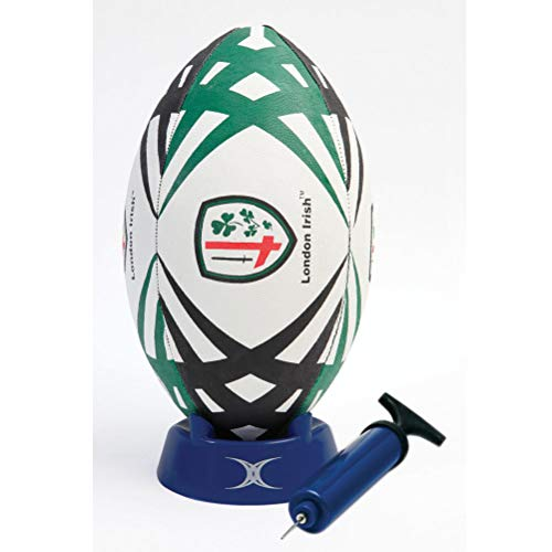 GILBERT London Irish Replica Starter Pack Rugbyball