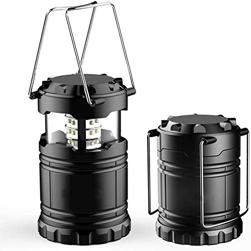 XGHC Farol de Camping LED,Camping Lantern- Brillante LED Lantern se Puede Plegar Apto para Senderismo,Camping,emergencias,Huracanes Cortes superbrillantes Ligero Resistente al Agua 0429