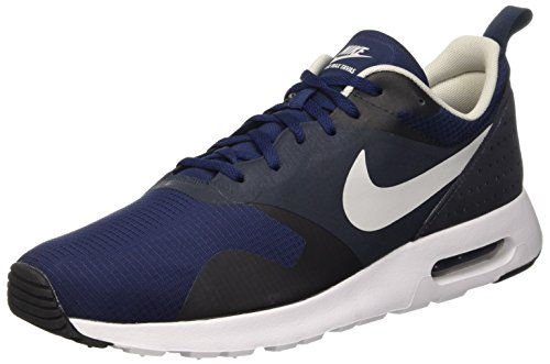 Nike Air Max Tavas, Scarpe da Ginnastica Uomo, Blu (Midnight Navy/Natural Grey/Dark Obsidian), 40