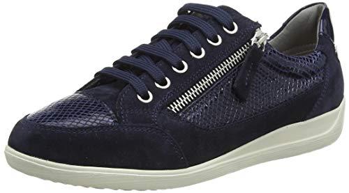 Geox D Myria A, Zapatillas Mujer, Azul Marino, 37 EU