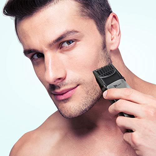 SYSKA HT3052K/02 Ultragroom Pro Styling Kit Runtime: 50 Min Trimmer for Men (Silver Black)
