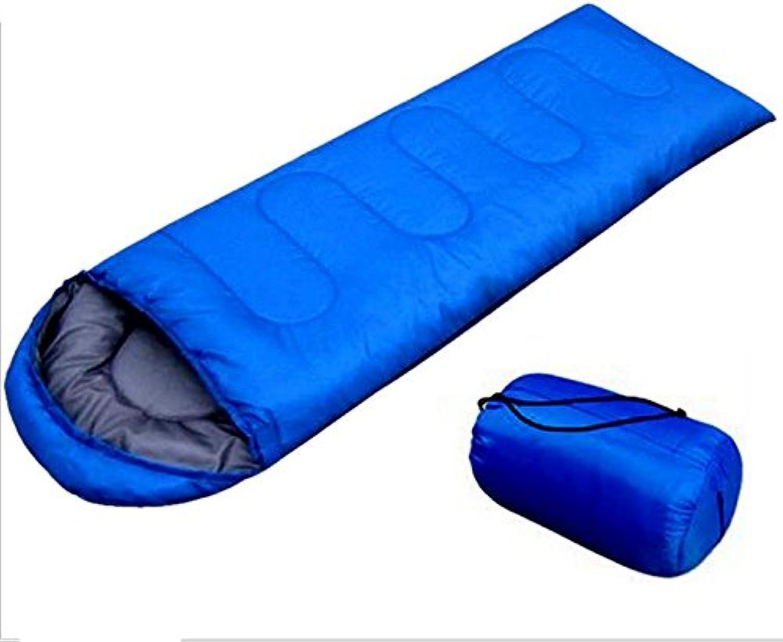 SHUIDAI Schlafsack Warm Warm Warm mit leichten komfortablen Wandern Camping Outdoor-Sportarten , Blau , (18030) 75 B06XF9YX12  Großer Verkauf b5f3e9