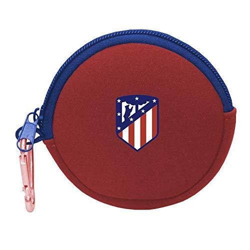 Atletico de Madrid Rundes Neopren Freizeit und Sportwear Erwachsene Unisex Mehrfarbig (Mehrfarbig), Einheitsgröße