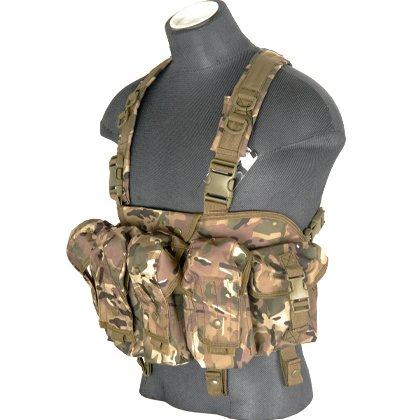 "Lancer Tactical CAG ""Tora Bora"" Airsoft AK Chest Rig – CAMO"